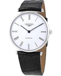 Longines La Grande Classique Automatic White Dial Ladies Watch