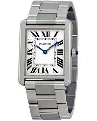 Cartier Tank Solo Large Watch - Metallic
