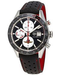Tag Heuer Carrera Limited Edition Chronograph Automatic Black Dial Mens Watch