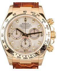 Rolex Pre-owned Cosmograph Daytona Chronograph Automatic Chronometer Diamond Mens Watch -mdl - Metallic