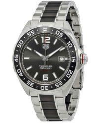 Tag Heuer Formula 1 Calibre 5 Watch - Metallic