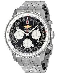 Breitling Navitimer 1 Chronograph Automatic Chronometer Black Dial Mens Watch