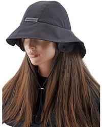 MISBHV Mens Sailing Nylon Bucket Hat In Black