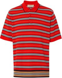 Burberry Men's Beaford Polo Shirt - Red