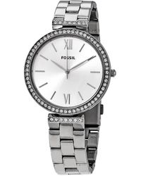 Fossil - Madeline Quartz Crystal Silver Dial Ladies Watch - Lyst