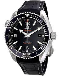 Omega Seamaster Planet Ocean Automatic Mens Watch - Metallic