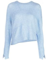 3.1 Phillip Lim Ladies Blue Basket Weave Sweater