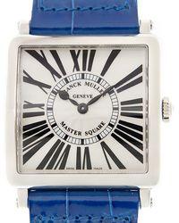 Franck Muller Master Square Quartz Silver Dial Unisex Watch  M Qz R (ac) - Metallic