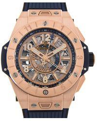 Hublot - Big Bang Unico Gmt Automatic Mens Watch - Lyst