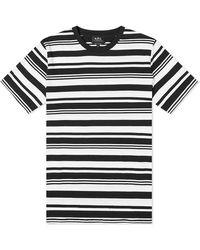 A.P.C. Short-sleeve Gilbert Striped Cotton T-shirt - Multicolour