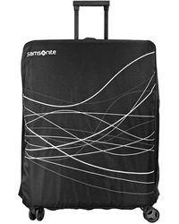 Samsonite Travel Link Acc. Foldable Luggage Cover L - Black