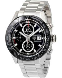Tag Heuer Carrera Chronograph Automatic Mens Watch - Metallic