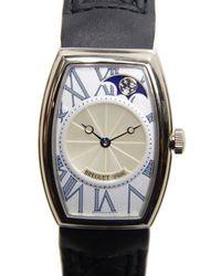 Breguet Heritage Phase De Lune Automatic Silver Dial Ladies Watch - Metallic