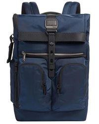 Tumi Navy Alpha Bravo Lance Backpack - Blue