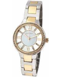 Ellen Tracy Quartz Watch - Metallic