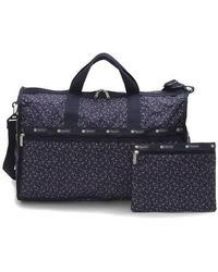 LeSportsac Le Sportsac Ladies Ditsy Dance Party Large Weekender Bag - Blue