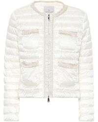 Moncler Wellington Down Jacket - White