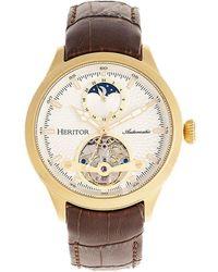 Heritor Men's Gregory Watch - Metallic