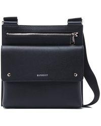 Burberry Grainy Crossbody Bag - Black