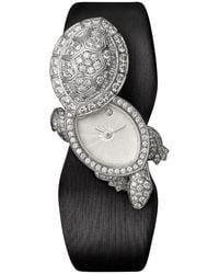 Cartier Ballon Bleu 18k Pink Gold Diamond Watch Medium - Metallic