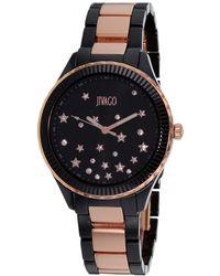 Jivago - Sky Black Dial Ladies Watch - Lyst