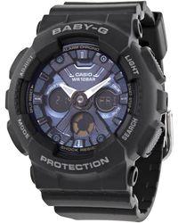 G-Shock Baby-g Alarm World Time Chronograph Quartz Analog-digital Blue Dial Watch -1a2