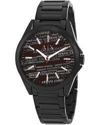 Armani Exchange Quartz Black Dial Mens Watch