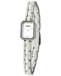 Chanel Premiere Diamond Quartz Watch - Metallic