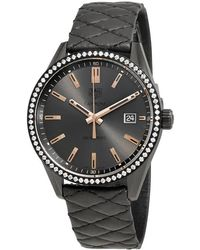 Tag Heuer Carrera Anthracite Dial Ladies Watch - Multicolour