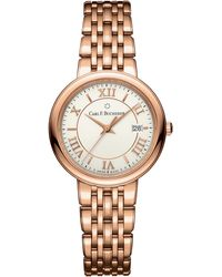 Carl F. Bucherer 00.10312.03.15.21 Adamavi Rose-gold Sapphire Crystal Bracelet Watch - Metallic