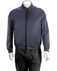 Ferragamo Salvatore Mens Outerwear Blouson - Blue