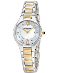 Raymond Weil Noemia Mother Of Pearl Diamond Dial Ladies Watch -stp-00985 - Metallic