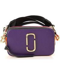 Marc Jacobs Snapshot Cross Body Bag - Purple