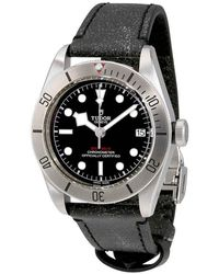 Tudor Heritage Black Bay Automatic Chronometer Black Dial Mens Watch -0005