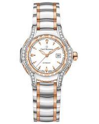 Carl F. Bucherer Pathos Diva Automatic Ladies Watch - Metallic