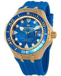TechnoMarine Grand Cruise Automatic Blue Dial Mens Watch -118087
