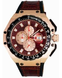 Oniss On3255 Brown Dial Mens Watch -0rgbn - Multicolor