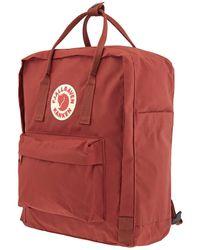 Fjallraven Autm Leaf Backpack - Red