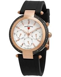 Swiss Legend Madison White Dial Ladies Watch 16175sm-rb-02 - Multicolour
