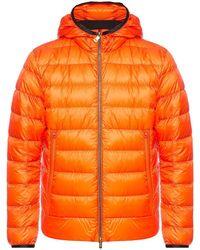 Moncler - Orange Down Lambot Jacket - Lyst