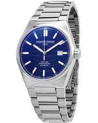 Frederique Constant Highlife Automatic Blue Dial Mens Watch -303n4nh6b