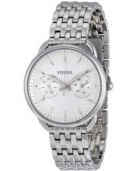 Fossil - Tailor Multi-function White Dial Ladies Watch - Lyst