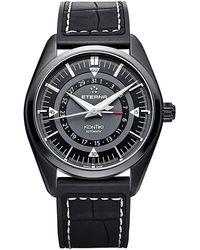 Eterna Kontiki Automatic Dial Watch - Black