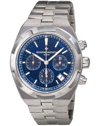 Vacheron Constantin - Overseas Chronograph Automatic Blue Dial Mens Watch -b148 - Lyst