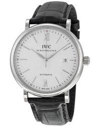 Iwc Portofino Automatic Silver Dial Mens Watch 3565-01 - Metallic