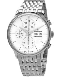 Junghans - Meister Chronograph Automatic Silver Dial Mens Watch - Lyst