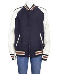 COACH Icon Varsity Jacket - Blue