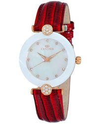 Oniss - On8776mop White Dial Ladies Watch -0lrgwt - Lyst