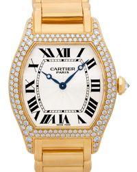 Cartier Ballon Bleu 36mm Rose Gold & Diamond - Metallic