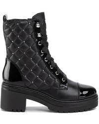 Michael Kors Ladies Black Tilda Lace-up Booties, Brand